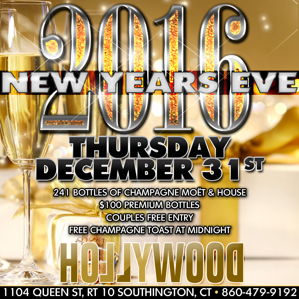 New Years Eve | Hollywood Strip Club Connecticut CT