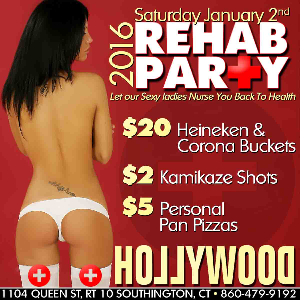 Rehab Party | Hollywood Strip Club Connecticut CT