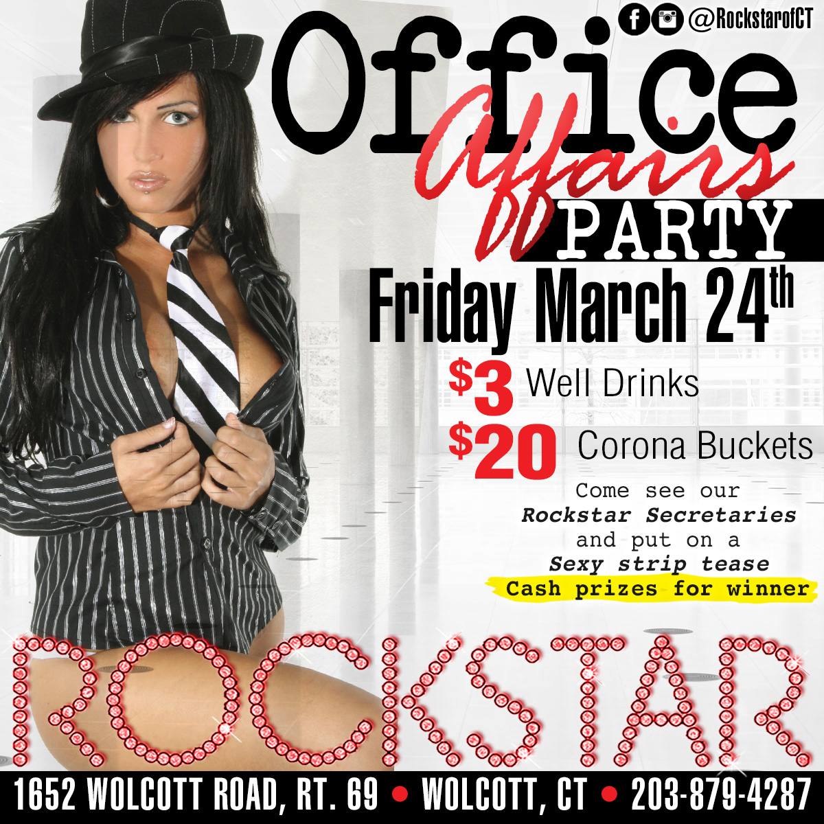 Office Affairs Party | Rockstar Strip Club Connecticut