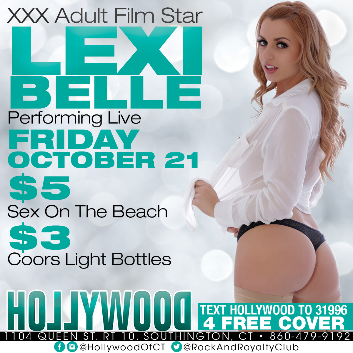Porn Star Lexi Belle | Hollywood Strip Club Connecticut
