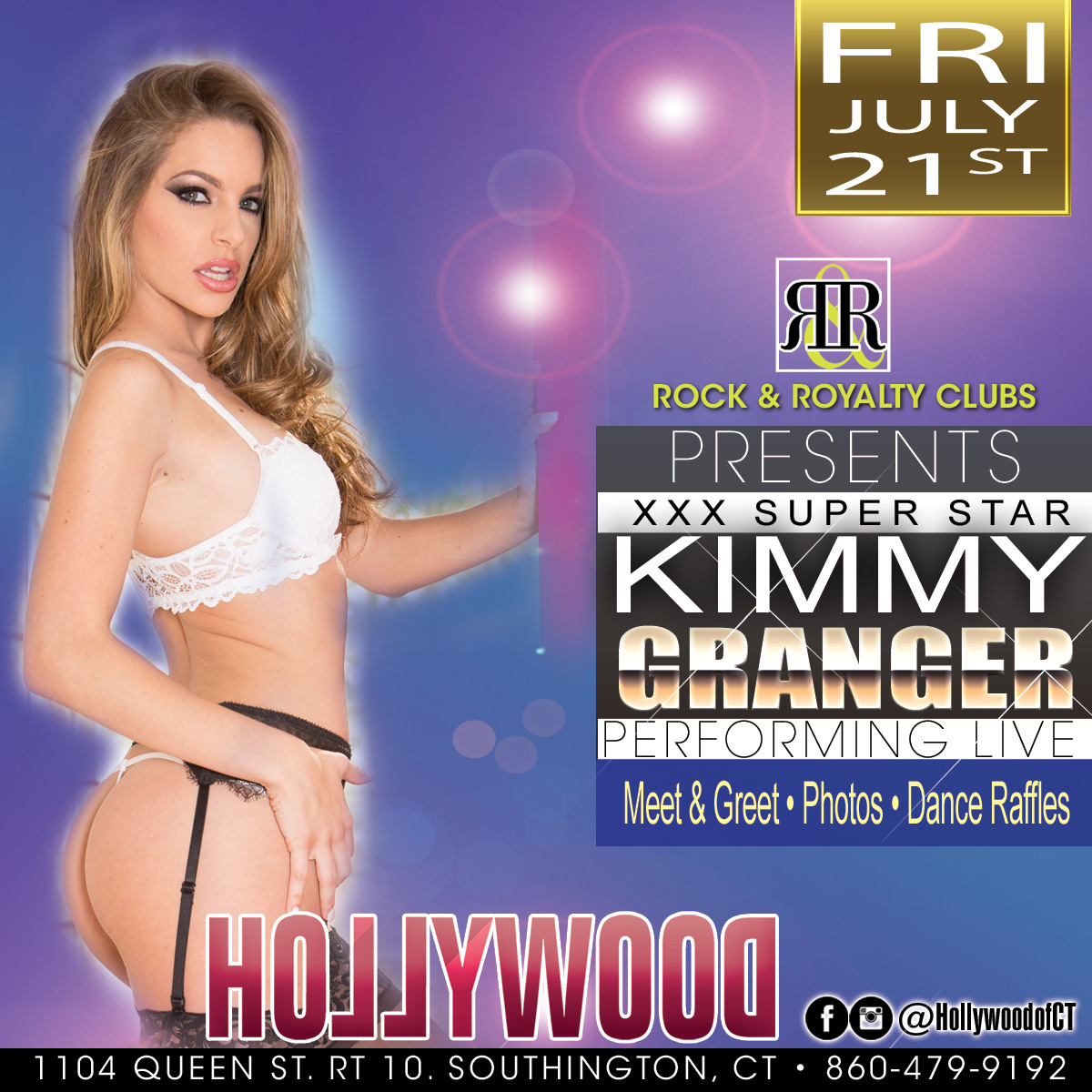 Pornstar Kimmy Granger | Hollywood Strip Club Connecticut