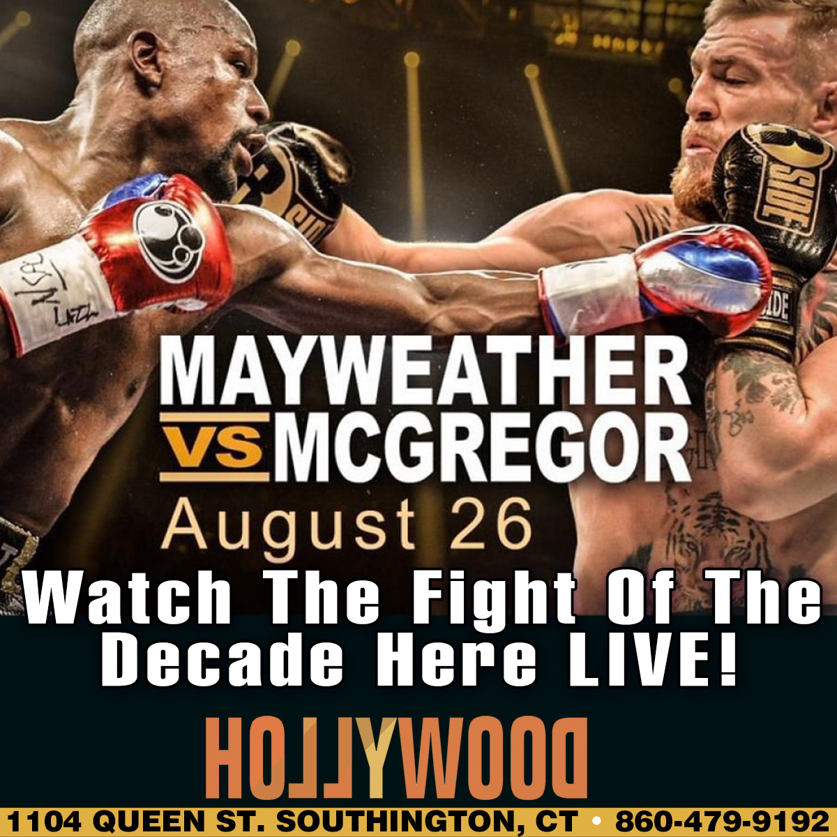 Mayweather Vs McGregor | Hollywood Strip Club Connecticut