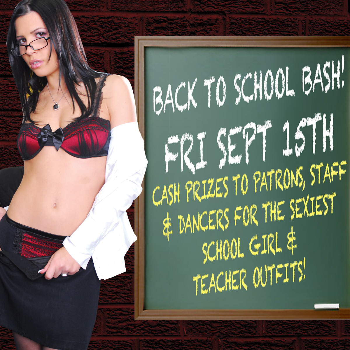 Back to School Bash | Hollywood Strip Club Connecticut