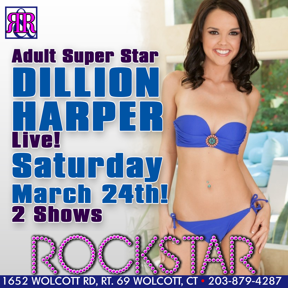 XXX Superstar Dillion Harper | Rockstar Strip Club Connecticut