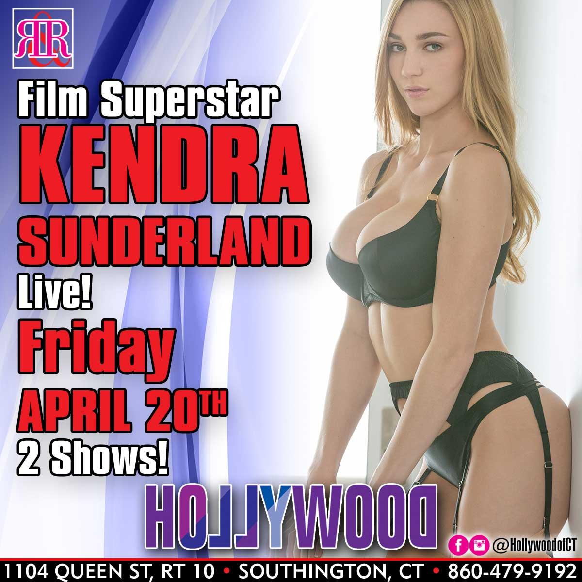 XXX Superstar Kendra Sunderland | Hollywood Strip Club Connecticut