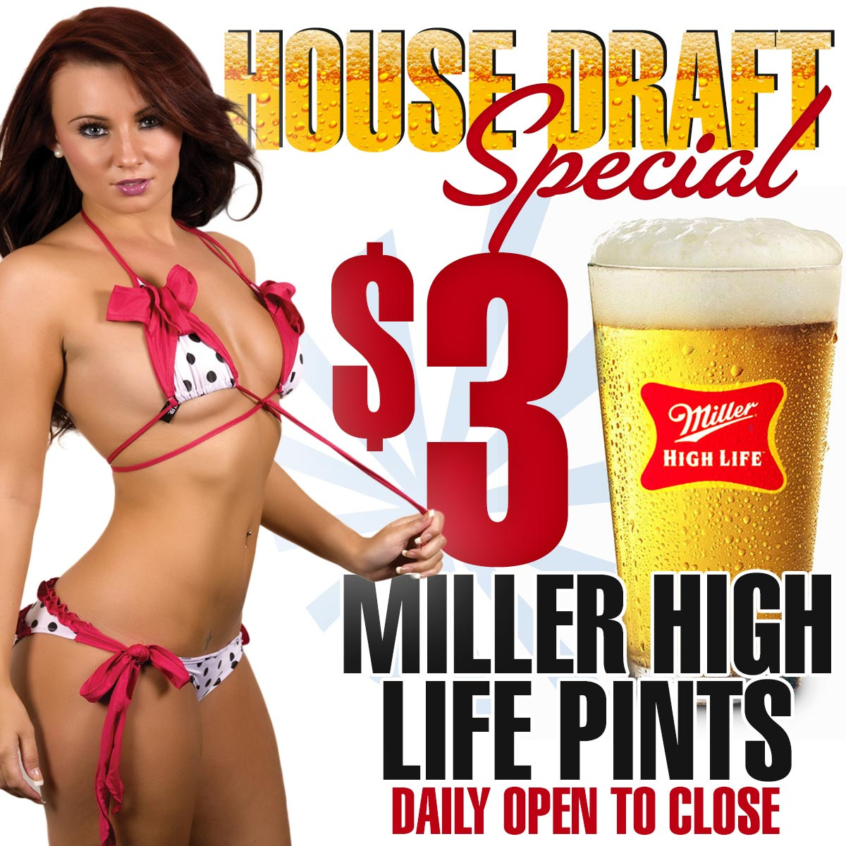 $3 Miller High Life | Rockstar Strip Club Connecticut