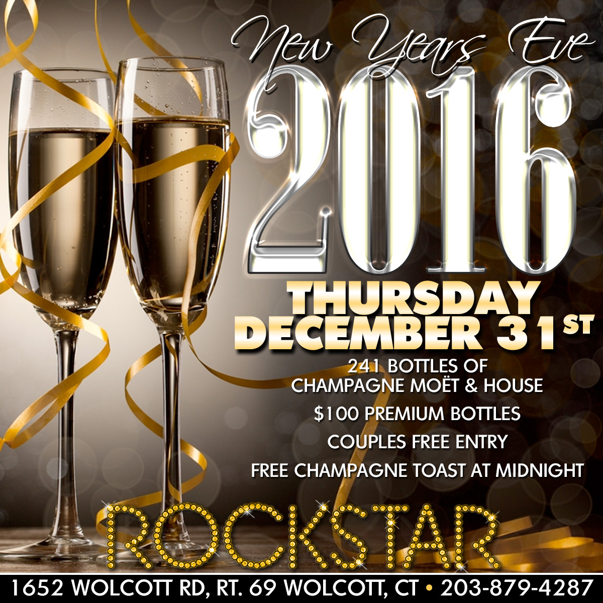 New Years Eve | Rockstar Strip Club Connecticut CT