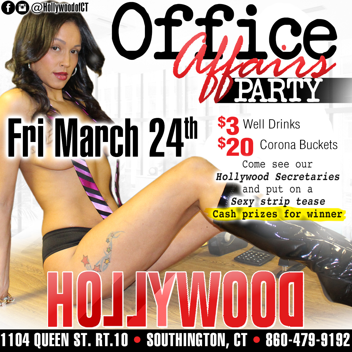 Office Affairs Party | Hollywood Strip Club Connecticut