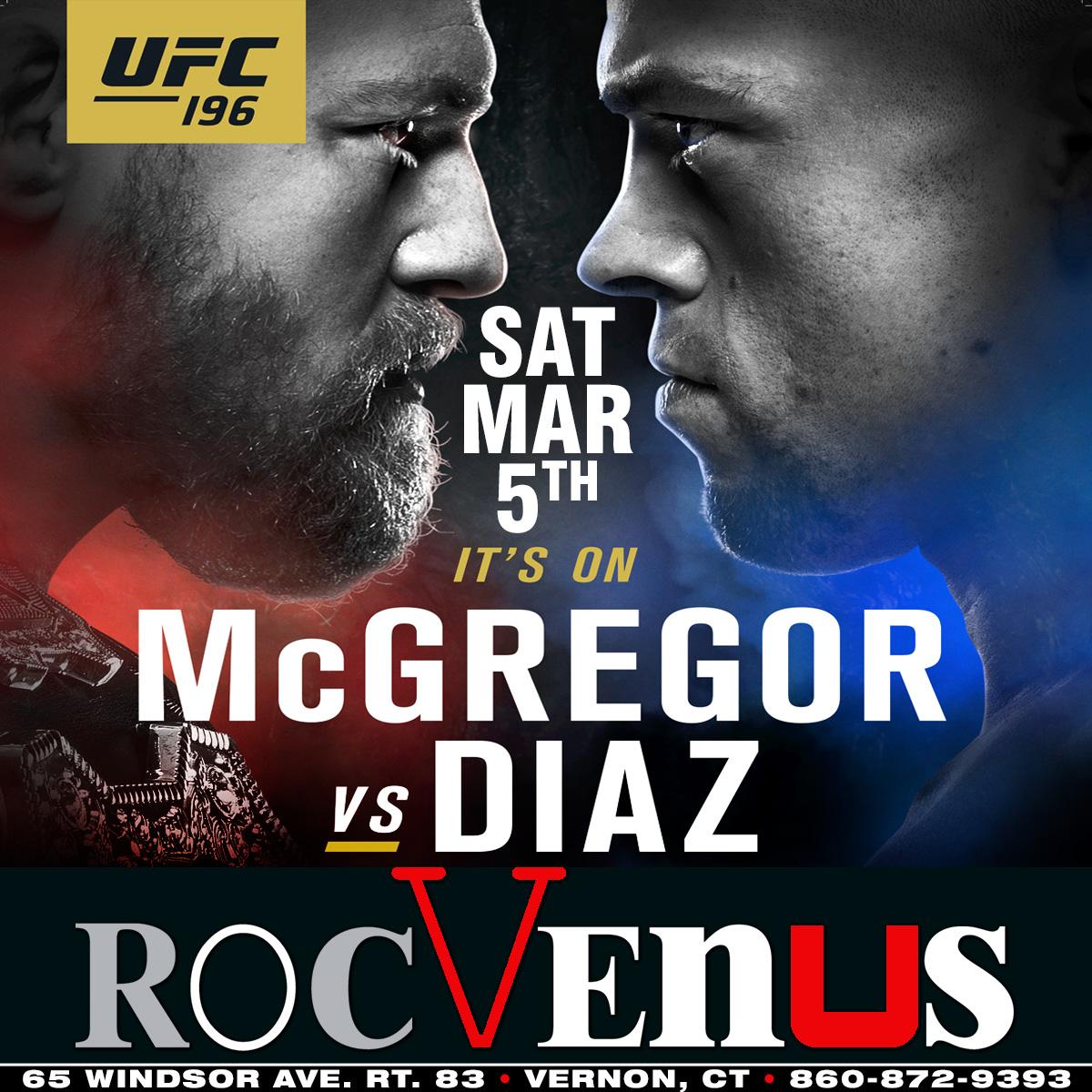 UFC 196 | RocVenus Strip Club Connecticut