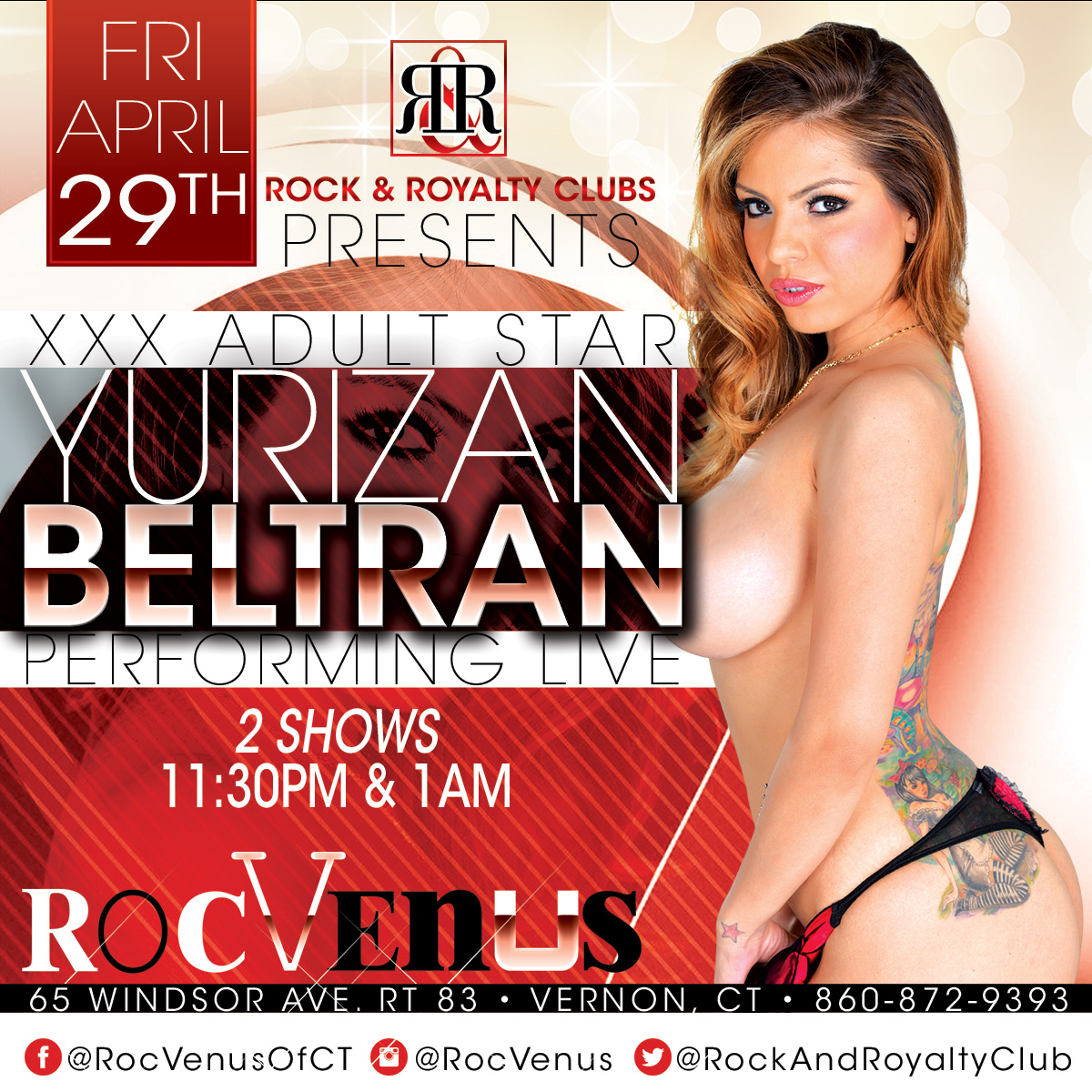 Porn Star Yurizan Beltran | RocVenus Strip Club Connecticut