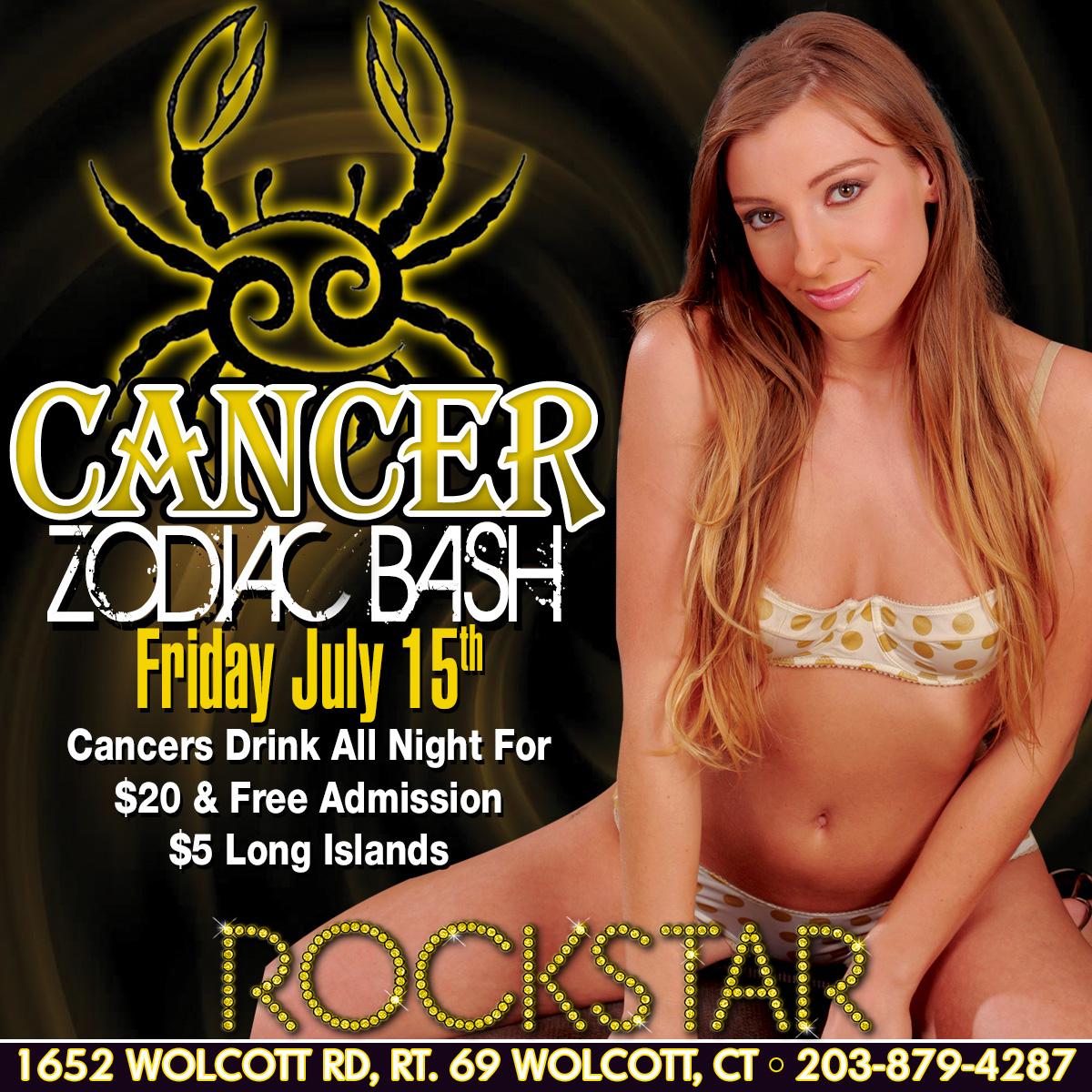 Cancer Zodiac Party | Rockstar Strip Club Connecticut