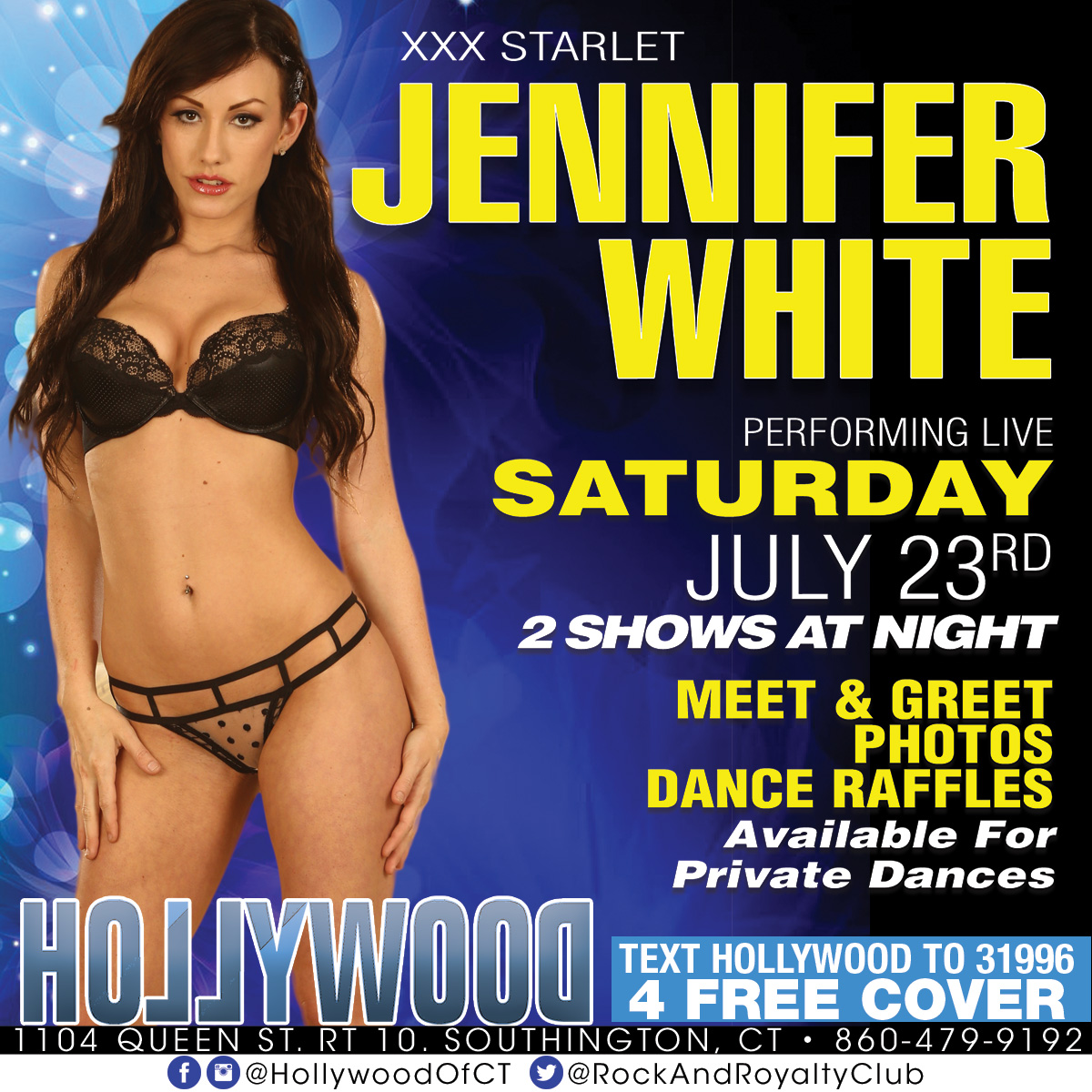 Porn Star Jennifer White | Hollywood Strip Club Connecticut