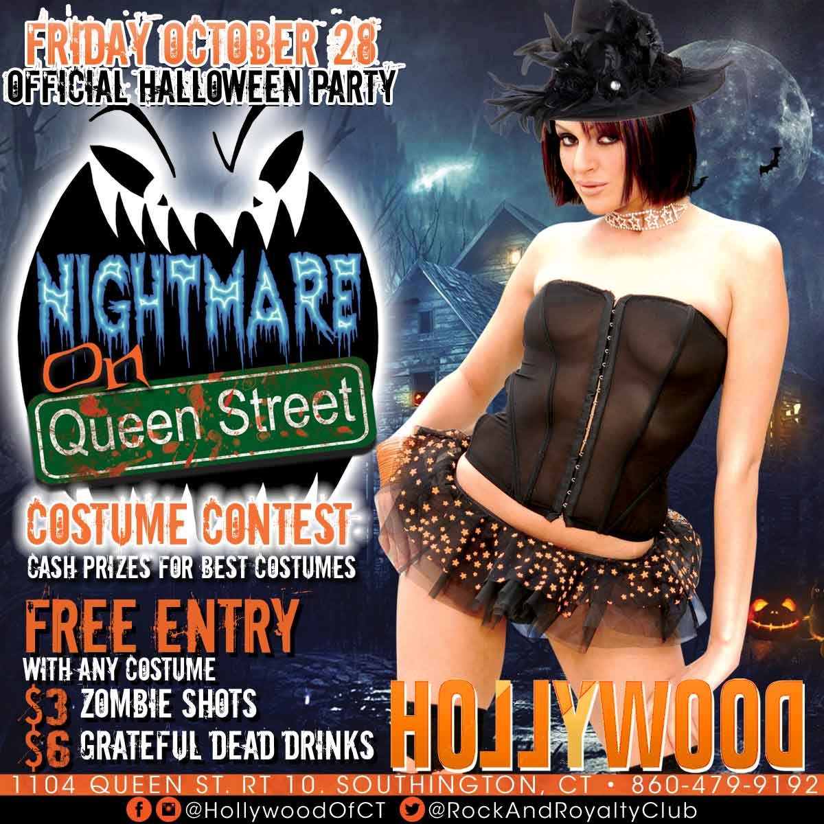 Nightmare On Queen St | Hollywood Strip Club Connecticut