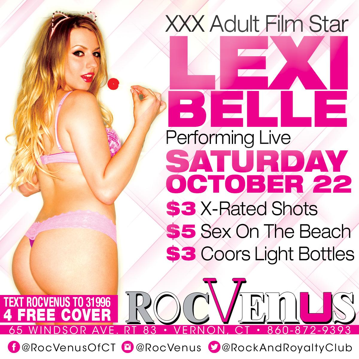 Porn Star Lexi Belle | RocVenus  Strip Club Connecticut