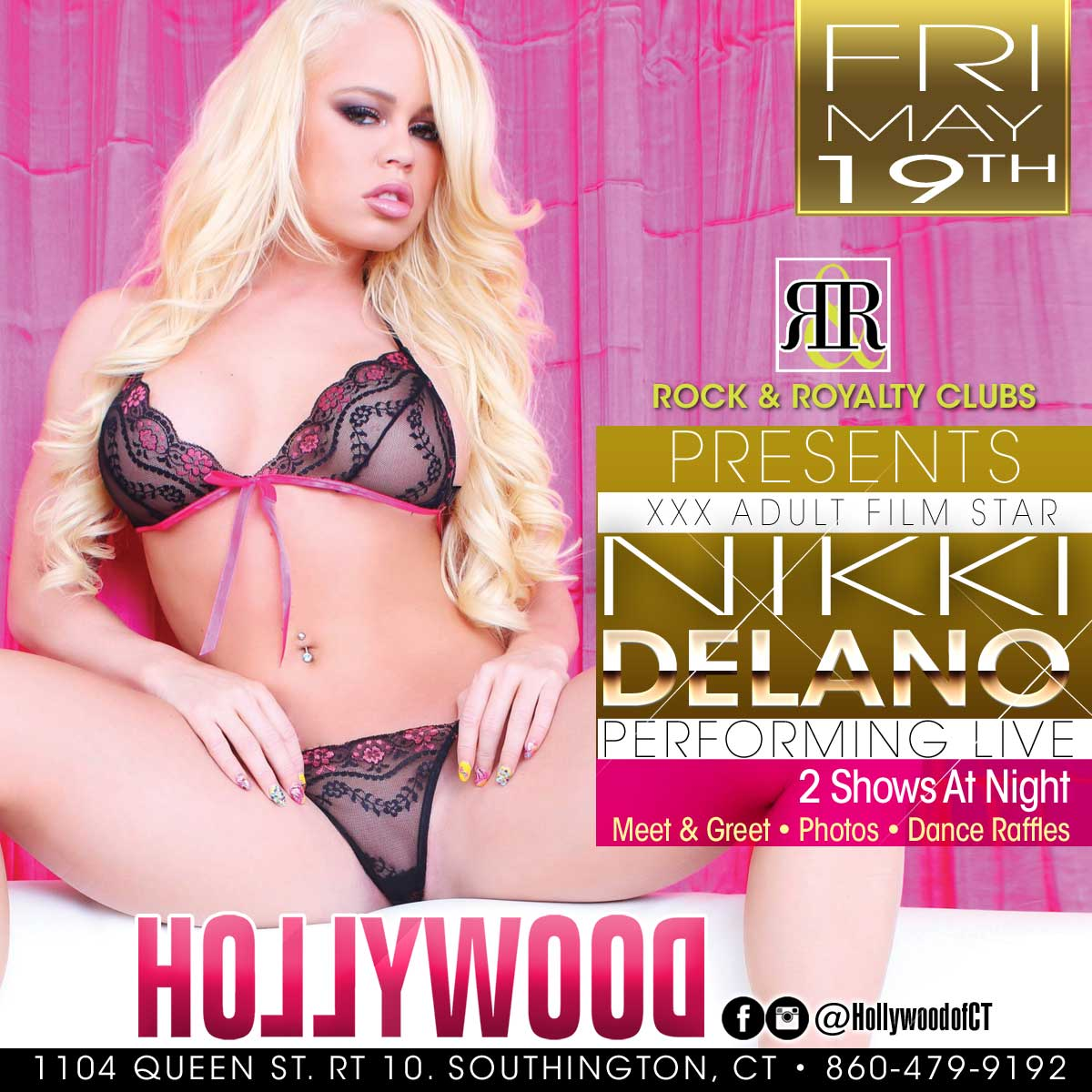 Porn Star Nikki Delano | Hollywood Strip Club Connecticut