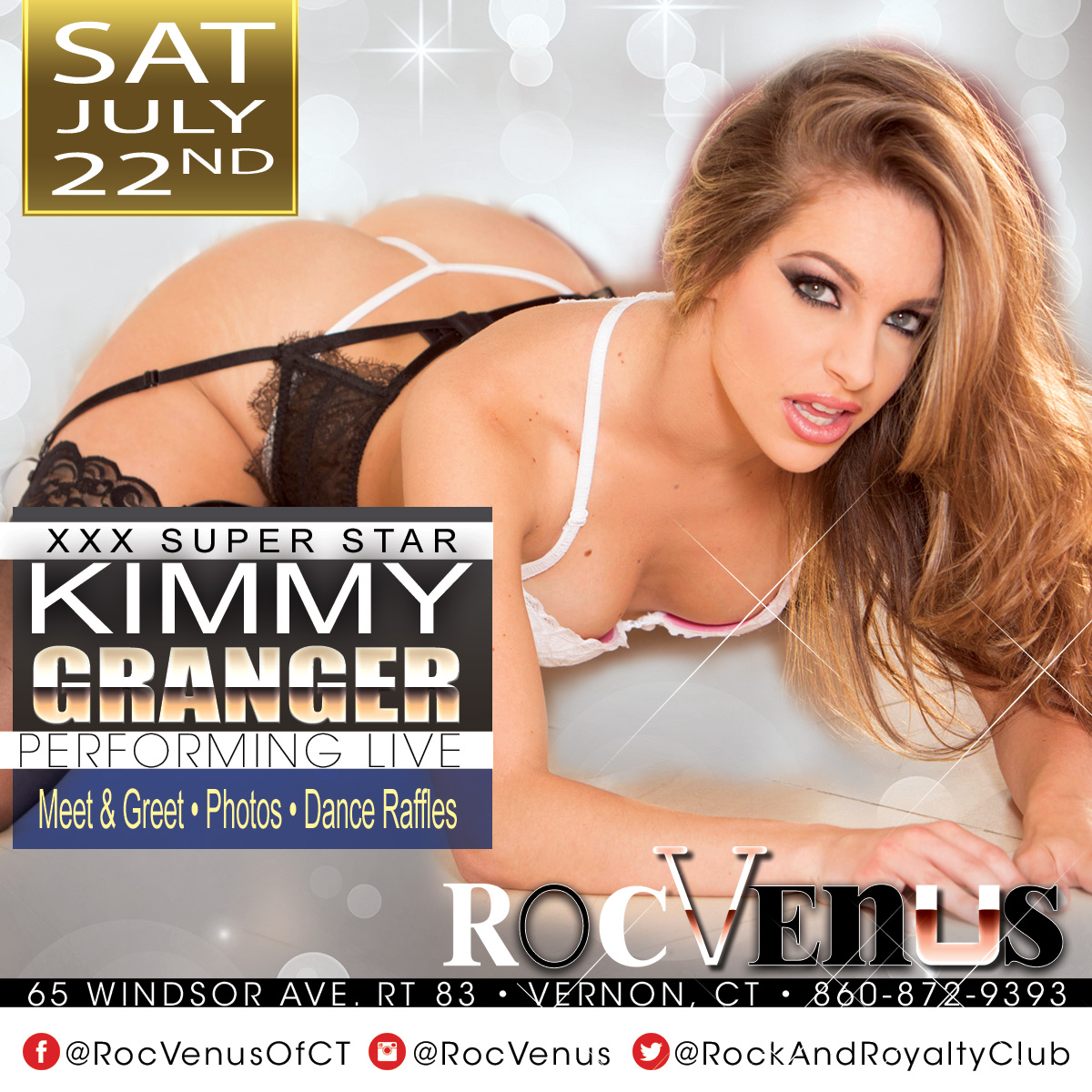 Porn Star Kimmy Granger | Hollywood Strip Club Connecticut
