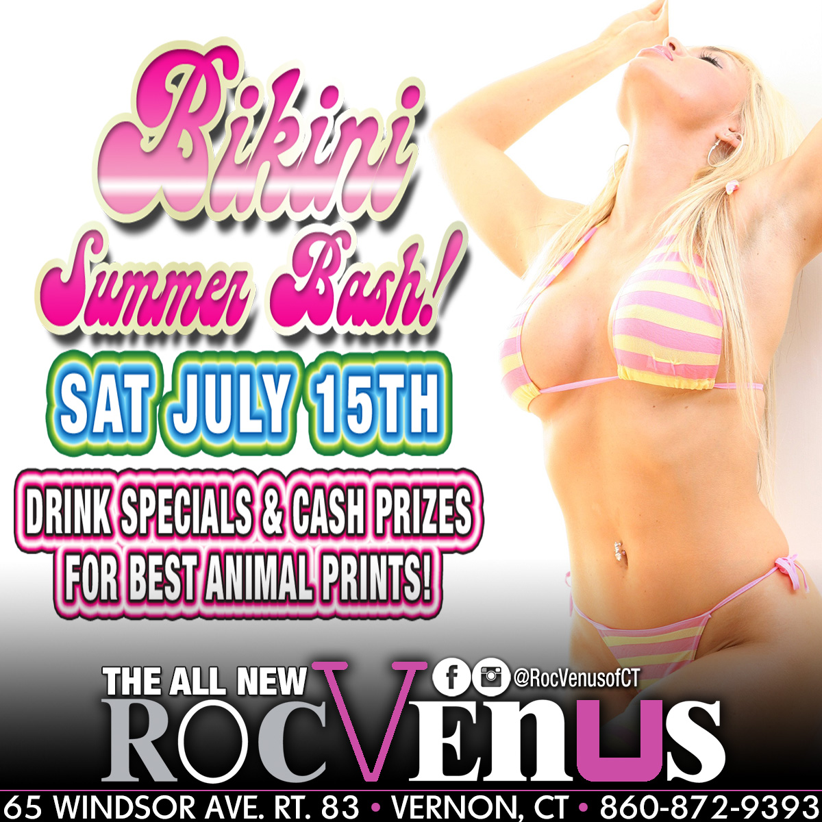 Bikini Party | Rockstar Strip Club Connecticut