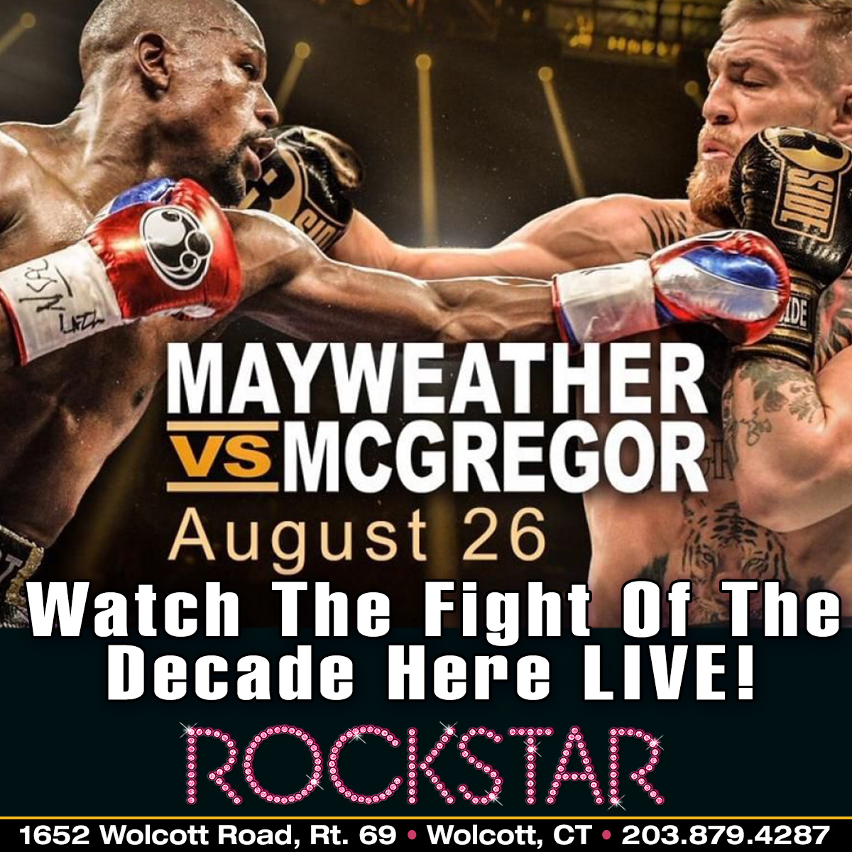 Mayweather Vs McGregor | Rockstar Strip Club Connecticut