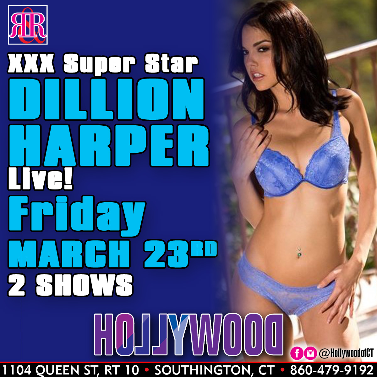 XXX Superstar Dillion Harper | Hollywood Strip Club Connecticut