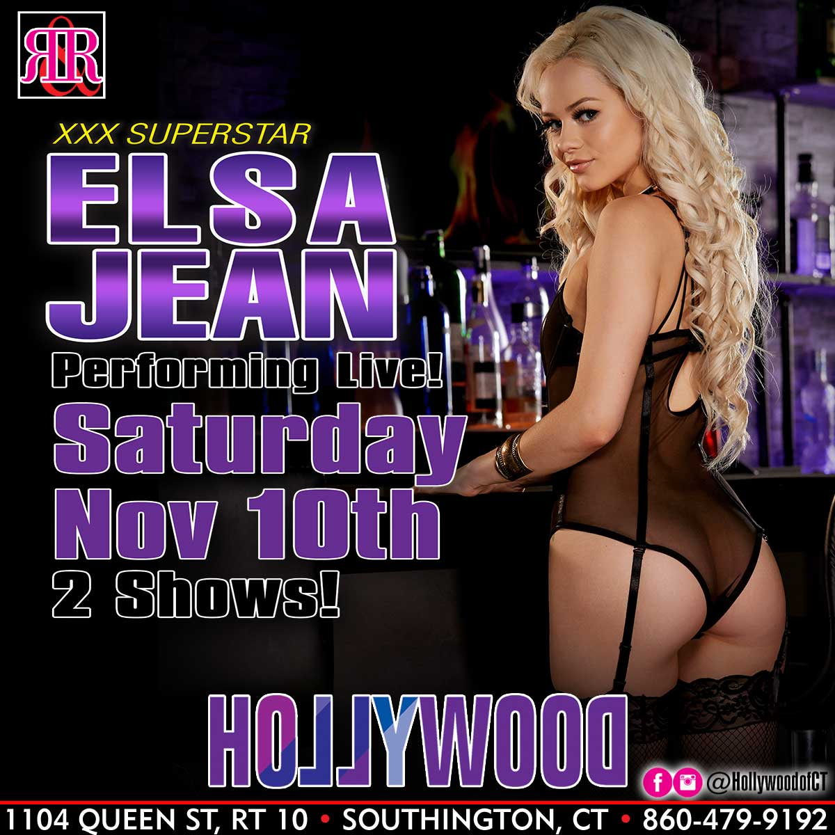 Elsa Jean | Hollywood Strip Club Connecticut