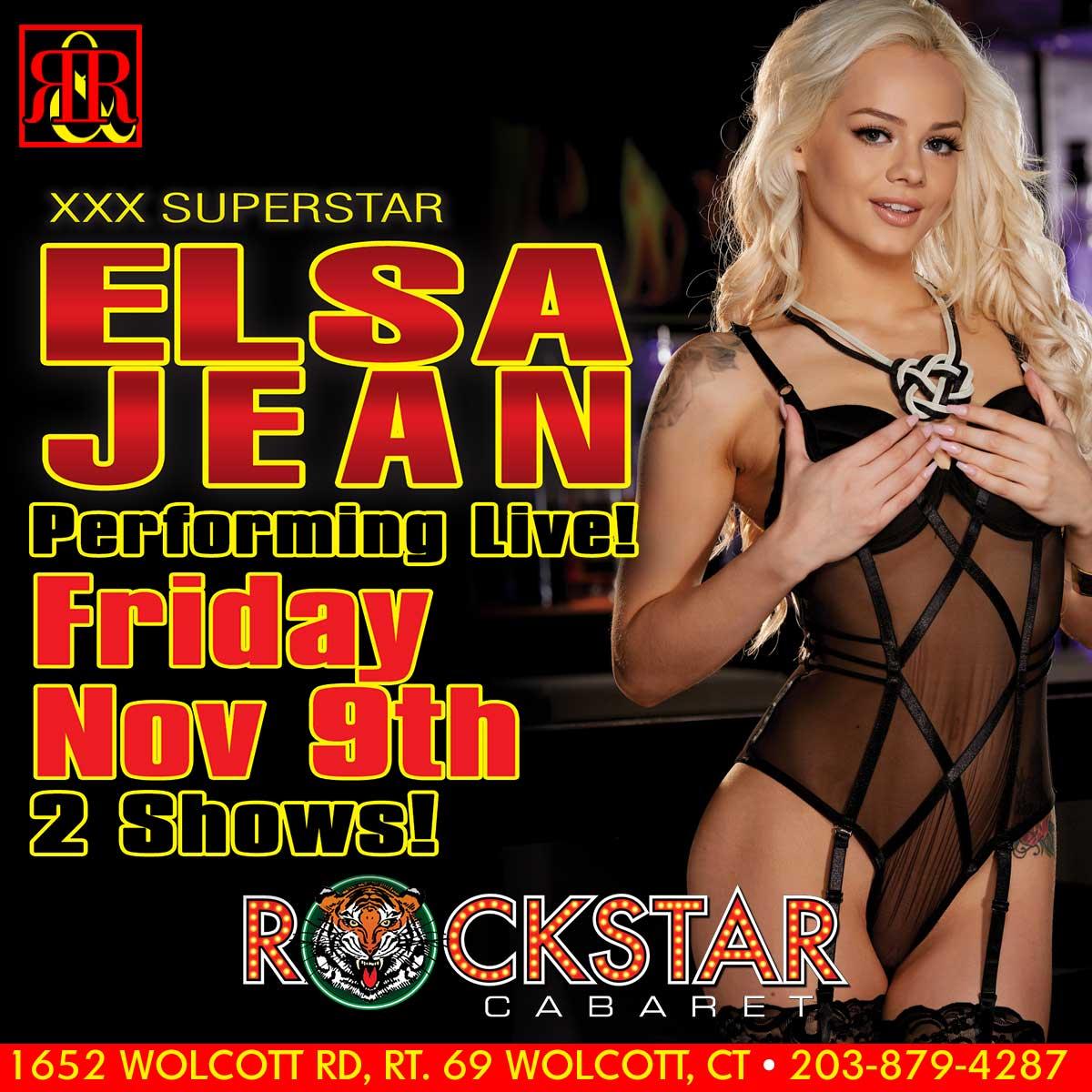 Elsa Jean | Rockstar Strip Club Connecticut